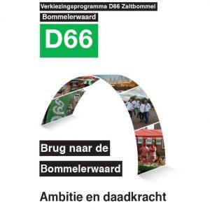Cover verkiezingsprogramma Zaltbommel