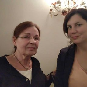 Mieke Boas en Liesbeth Faas